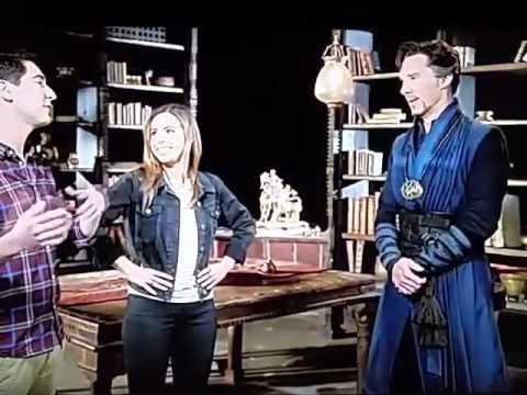 Disney Channel USA is showing a little featurette called Inside Dr Strange
