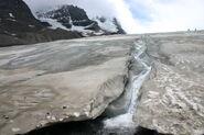 Melting Toe of Athabasca Glacier