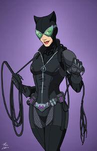 Catwoman enhanced