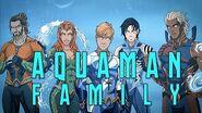 Earth-27 Aquaman Family