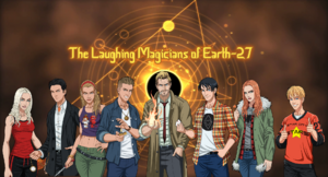 Laughing Magicians