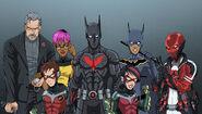 Bat Family 2027 in costume