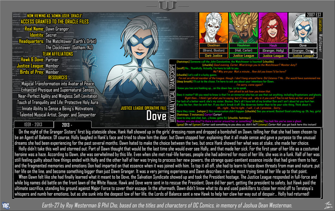 Oracle Files: Dawn Granger 2