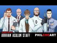 Earth-27 Arkham Asylum Staff