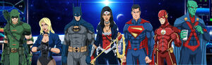 Justice League Founders