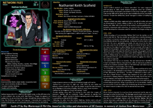 Network Files Nathan Scofield 1