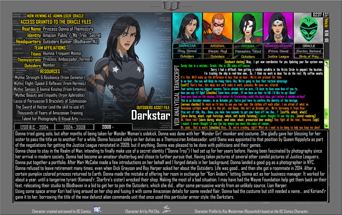 Oracle Files: Donna Troy 3