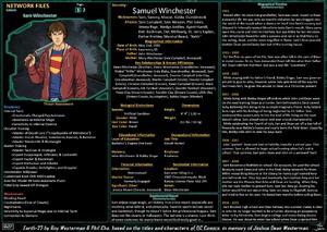 Network Files Sam Winchester 1