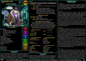 Network Files Oswald Cobblepot 1