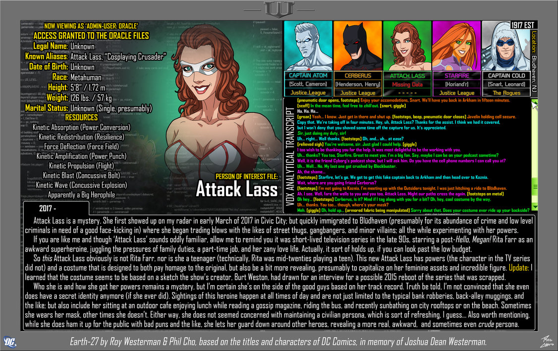 Oracle Files: Attack Lass