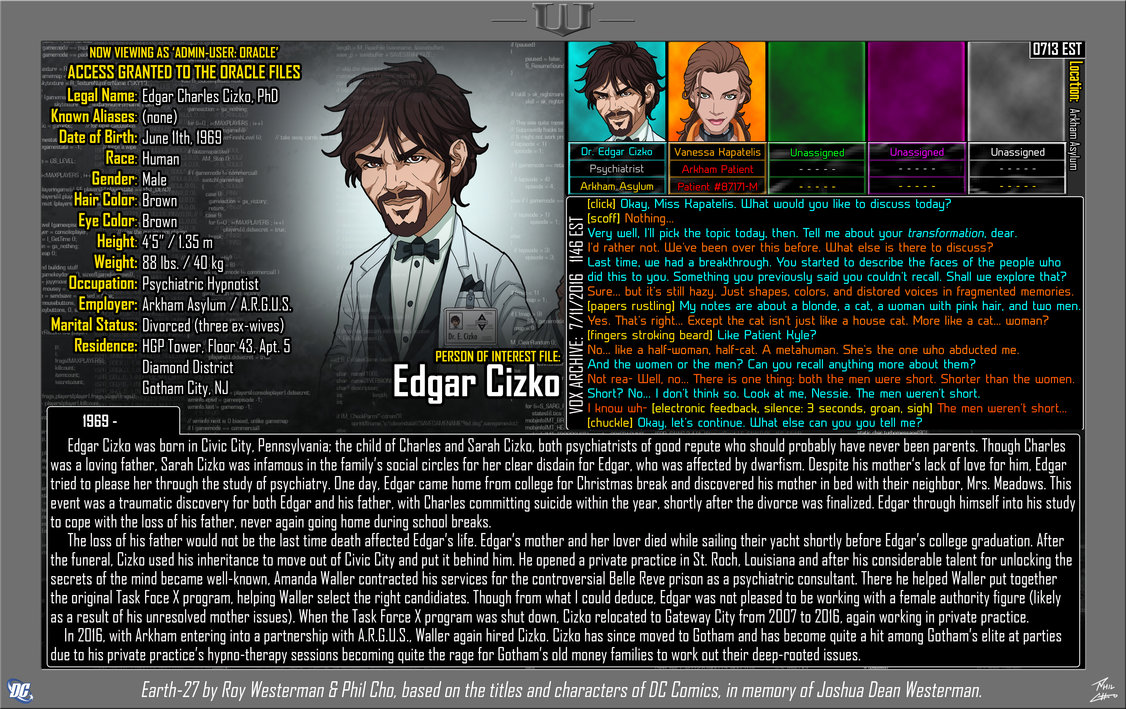 Oracle Files: Edgar Cizko
