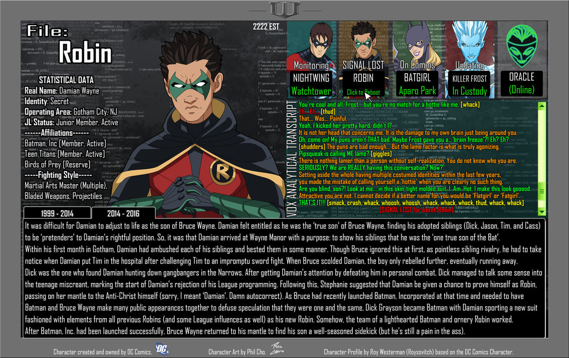 Oracle Files: Damian Wayne 2
