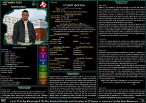 Network Files Roland Jackson 1