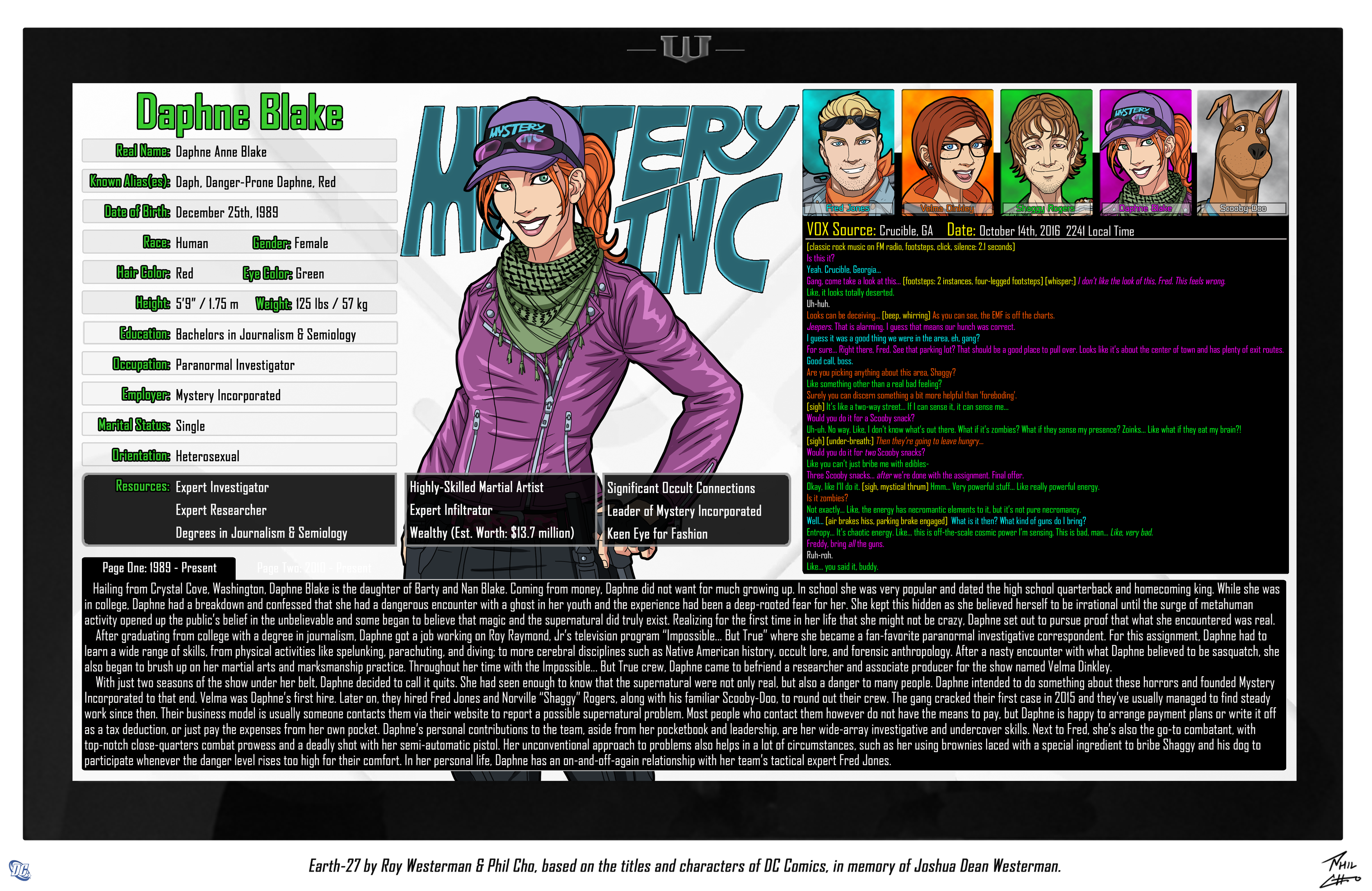 Oracle Files: Daphne Blake