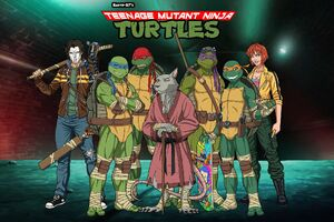 TMNT and Friends