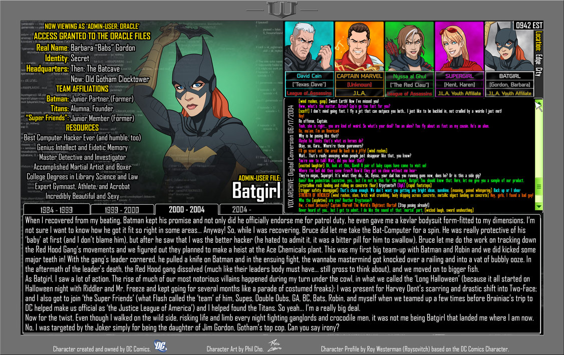 Oracle Files: Barbara Gordon 3