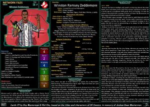 Network Files Winston Zeddemore 1