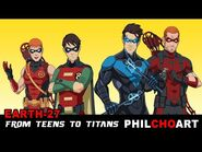 Earth-27 From Teens to Titans