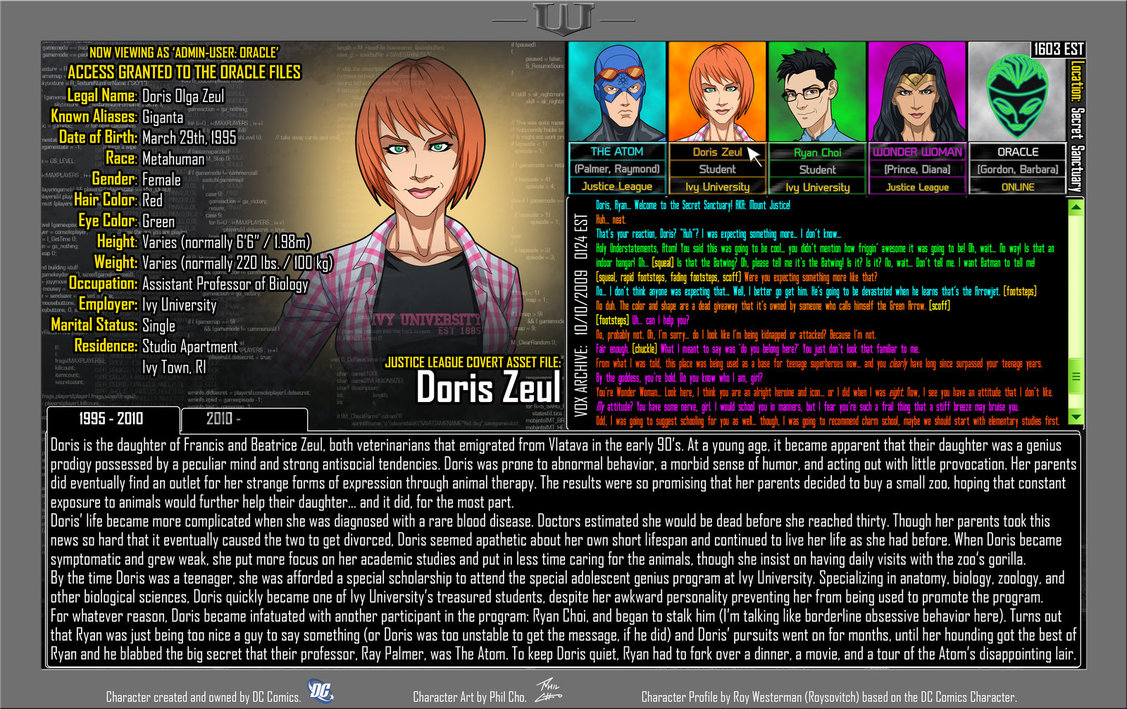 Oracle Files: Doris Zeul 1