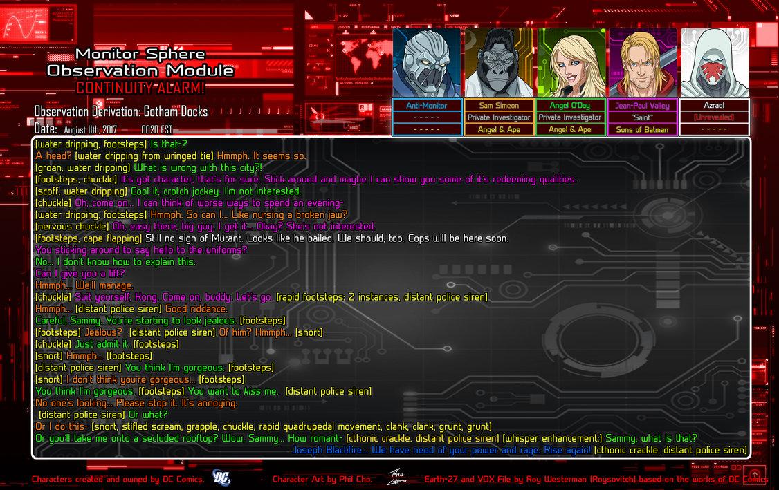ObMod: Beyond Crisis 4