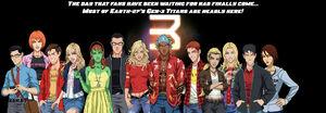 Teen Titans Third Team