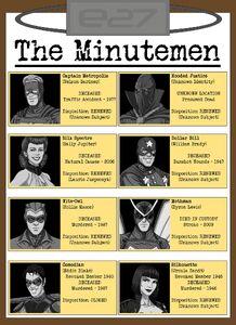 Minutemen Roster