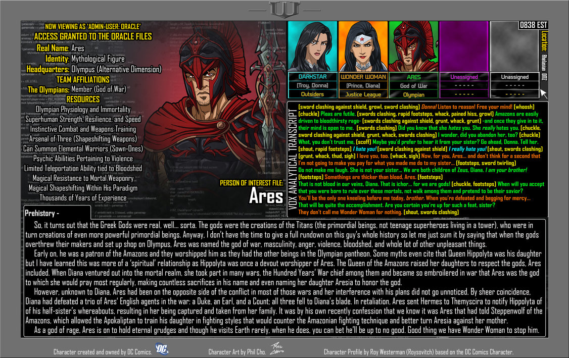 Oracle Files: Ares