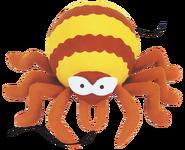 Clay arachnid
