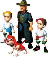 Main Cast N64 Render