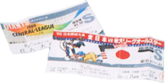 Biglietti dei Tokyo Giants Oggetti preferiti - EarthBound Beginnings