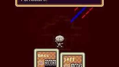 Earthbound Boss Battle Clumsy Robot