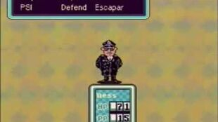 EarthBound Mother 2 - Captain Strong