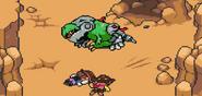 Mecha drago derrotado