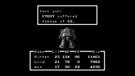 R7037 en batalla