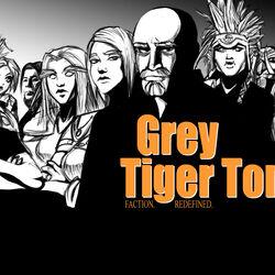 Gray Tiger Tong