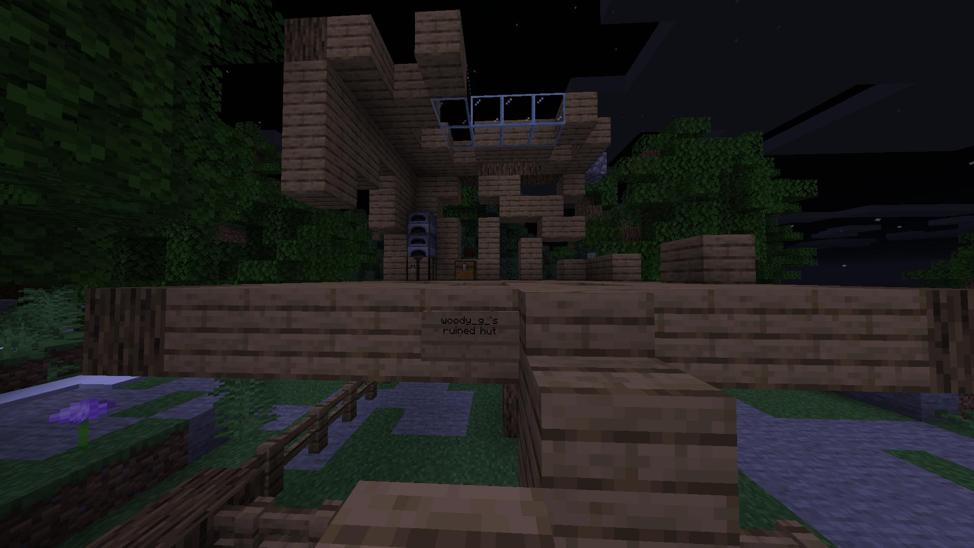 Woody g 's ruined hut
