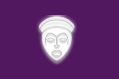 Flag of Suwa, Nagans.png