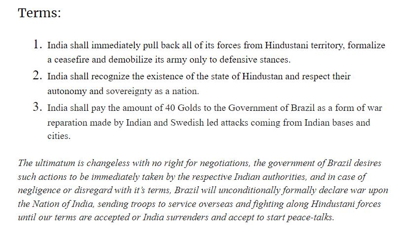 Hindustani-Indian War