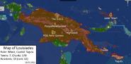 Map of louisiades 10-03-2021