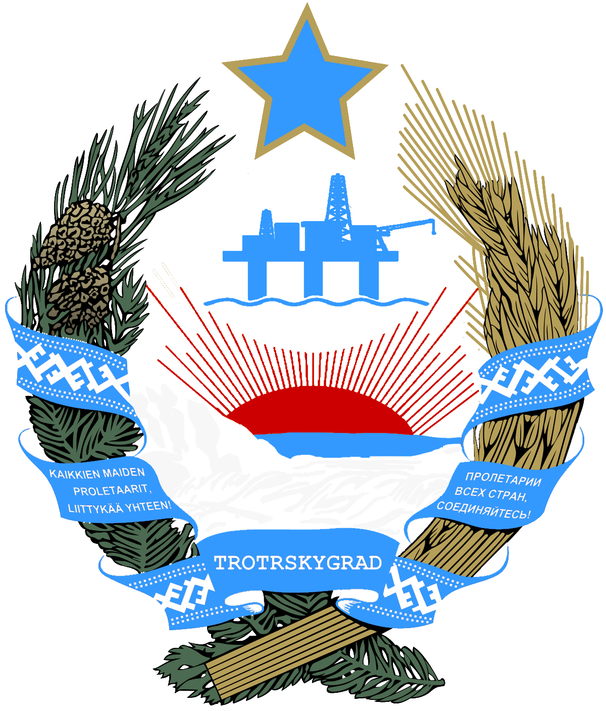 Coat of Arms of Trotskygrad