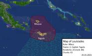 Map of louisiades 25-01-2021