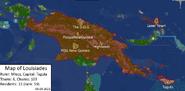 Map of louisiades 09-03-2021