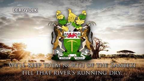 """Rhodesian Patriotic Song - """"Rhodesians Never Die"""""""