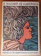 1968 Le Guin, Ursula - Wizard of Earthsea - 1st Ed Cover