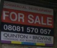 Quinton & Browne Sign (2 April 2021)