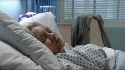 Roxy Mitchell in Hospital (4 May 2016)