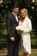 Dennis Rickman and Sharon Watts (29 August 2005)