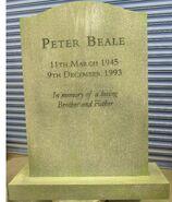 Pete Beale Headstone