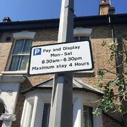 Albert Square Pay and Display (2015)