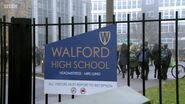 Walford High School Sign (30 January 2017)